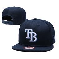 MLB Tampa Bay Rays 坦帕灣 光芒 刺繡運動休閒男生女生可調式嘻哈帽棒球帽鴨舌帽