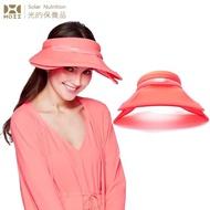 【HOII后益】HOII后益 全面防護遮陽帽 ★紅光(UPF50+抗UV防曬涼感先進光學機能布)
