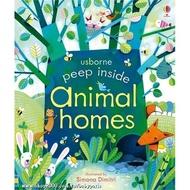 英國 Usborne - Peep Inside Animal home 動物的家