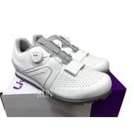 全新 公司貨 新色上市 捷安特 GIANT Liv FAMA 女性自行車專用硬底鞋(Boa旋鈕) 白銀色