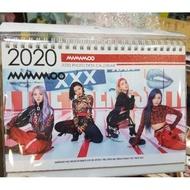[社長大人]最後一本 特價150~MAMAMOO~2020-2021韓國寫真年曆/桌曆