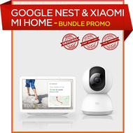 Google nest Hub & Xiaomi Wifi Camera bundle