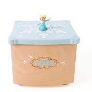 迪士尼 Disney / 艾莎雪寶木質音樂盒 /D481/ 冰雪奇緣 音樂鈴 交換禮物 Elsa Frozen2 雪寶