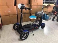 Fold and Travel Mobility Scooters for Adults 4 Wheel Long Range Mobility Scooter Electric Wheelchair Power