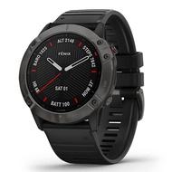 Garmin Fenix 6X Sapphire GM-010-02157-45 Smart Automatic Black Silicone Unisex Smartwatch [Pre Order