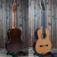 k.marth classical guitar solid top cedar