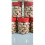 balang kuih raya# balang kuih Biskut Mazola (Homemade) Kuih Kacang [1 Balang 50 Pcs]