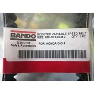 ▩﹍(SALE) Dio 3 Bando Driver Belt GREEN TAG 658-18.2-30 Japan1