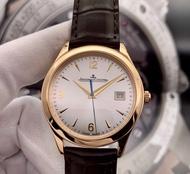 (ต่างประเทศ) Jaeger-LeCoultre 1542520 เส้นผ่านศูนย์กลาง 39 มม. 18k ทอง (ราคาเดิม 516411 บาท)  นาฬิกาอัตโนมัติ (นาฬิกาผู้ชายที่ประสบความสําเร็จ)