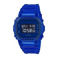 【CASIO 卡西歐】G-SHOCK 半透明系列 -藍(DW-5600SB-2)
