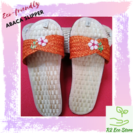 LIGHTWEIGHT ABACA SLIPPERS HANDMADE NATIVE PRODUCT FROM BICOL