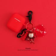 【現貨】蜘蛛人 鋼鐵人 airpods1保護套 漫威系列 Airpods 蘋果無線耳機矽膠保護套
