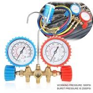 Tools Set Kit Conditioning Gauge AC W/ Refrigerant Diagnostic Hook Air Manifold