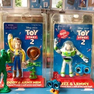 玩具總動員 絕版品 絕版吊卡 巴斯LENNY胡迪小綠兵 公仔模型 皮克斯