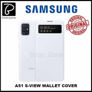 Official Samsung Galaxy A51 S-View Flip Cover Case
