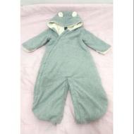 Baby GAP嬰兒絨毛拉鍊連身衣6-12m