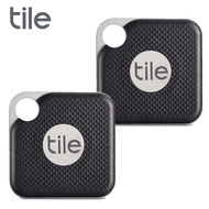 Tile Pro 防丟小幫手 (可換電池) 2入組 黑色