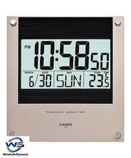 Casio ID-11S-1D Digital Thermometer 12-24 hrs Format Full Auto Wall Clock