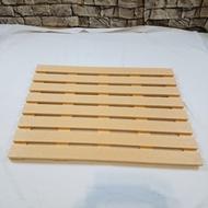 防水防滑桑拿踏板(˙B材70 x 50 x 2.4cm)/浴室地板/陽台地板/ 戶外地板/防滑踏板
