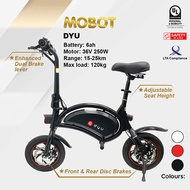 Mobot Official DYU UL2272 Certified Electric Scooter✅Mobot E Scooter DYU Escooter ✅LTA Compliant
