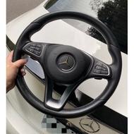 Mercedes-benz賓士原廠W205 C300圓把方向盤