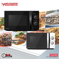 Toshiba 20L Microwave Oven + Grill Counter Top Oven MWP-MM20P / MWP-MG20P