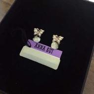 全新 ANNA SUI 耳環 蝴蝶 愛心 沒在用 出清 出售