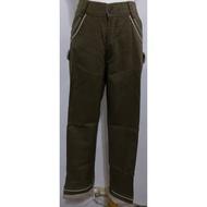降價下殺【現貨】實拍👕LYF專櫃雙口袋褲管側邊鈕釦造型設計綠色棉質長褲 L號帥氣棉質舒適感休閒簡單大方隨性