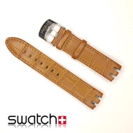 Swatch 21mm Leather Strap Watch Strap Leather Strap