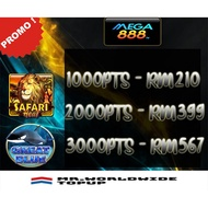 MEGA888 POINTS TOPUP (FOR AGENT ONLY)