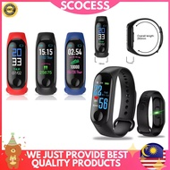 SCOCESS Stepping Heart Rate Blood Pressure Monitoring Watch