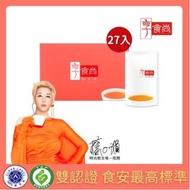 【享食尚】常溫滴雞精27入一盒(45ml/入)獨家禮盒組(時尚教主 藍心湄推薦)