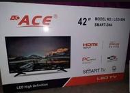 BRAND NEW ORIGINAL ACE 42 INCH SMART TV