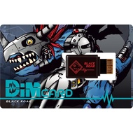[Ready Stock] Digimon Vital Bracelet Black Roar Dim Card