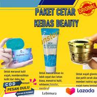 Paket Lengkap Kedas 3 pcs - Kedas beauty ori  / kedas beauty official / kedas beauty 1 paket lengkap / kedas beauty ori bpom 1 paket lengkap / kedas beauty ori bpom 1 paket serum / paket kedas beauty ori sabun serum gold jelly