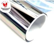 Silver / Mirror / Mirror 152cm Glass Sticker / Sticker