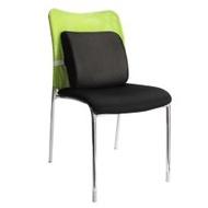 Ergonomic Home Office Chair Seat Memory Foam Lumbar Back Ache Seat Cushion Pad Pillow (Black) - intl