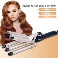Catok Pengeriting Rambut Keramik, Alat Pengeriting Rambut dengan Cepat, Lima 5 Barel, Alat Pengeriting Rambut untuk Semua Jenis Rambut
