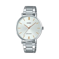 Casio Standard นาฬิกาข้อมือผู้หญิง สายสแตนเลส รุ่น LTP-VT01D