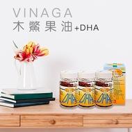 【 100粒裝木鱉果油Vinaga+dha 單瓶】_Dầu gấc  DHA