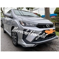READY STOK!! Perodua Bezza 2020 Gear Up Bodykit Skirt Front Rear Siap Cat