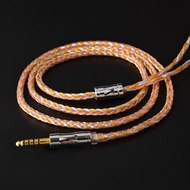 NICEHCK 16股鍍銀純銅升級線MMCX/2Pin銅銀金3色混編QDC/NX7耳機插針適用於Blon BL-03