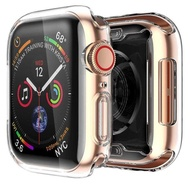 EverToner Case For Apple Watch Series 5 40mm&44mm  Clear Case TPU Screen Protector All Around Protective Case High Definition