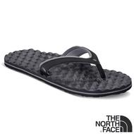 【美國 The North Face】女新款 BASE CAMP PLUS MINI 輕量人字夾腳拖鞋.海灘鞋.人字拖/ CXQ9 黑灰 N