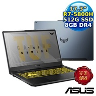 ASUS FA706QM-0042A5800H (17.3/AMD R7-5800H/8G/RTX3060-6G/512G PCIe/W10)幻影灰