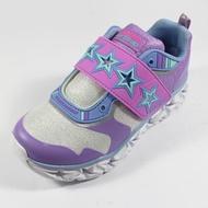 SKECHERS (童) 女童系列 燈鞋 運動鞋 GALAXY LIGHTS - 10955LSLLV 紫x淺藍[陽光樂活]