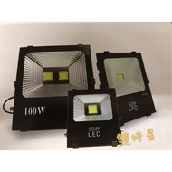 LED戶外投射燈/全電壓/COB燈片/防水防塵IP66/100W.150W.200W