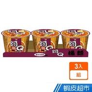 阿Q桶麵 韓式泡菜風味桶(102g*3入) 蝦皮24h 現貨
