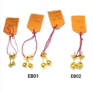 Emas 916 Subang / Anting  Gold 916 Earring EB01/ EB02