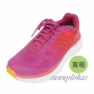 (A7) Hoka One One 女 Clifton 6 超緩震慢跑鞋 寬楦 運動鞋 HO1102877PRCFL 桃紫 [陽光樂活]